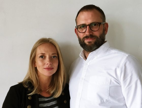 Anna Blue and Will Spokes set up Hitchhiker Television with Objective Media Group