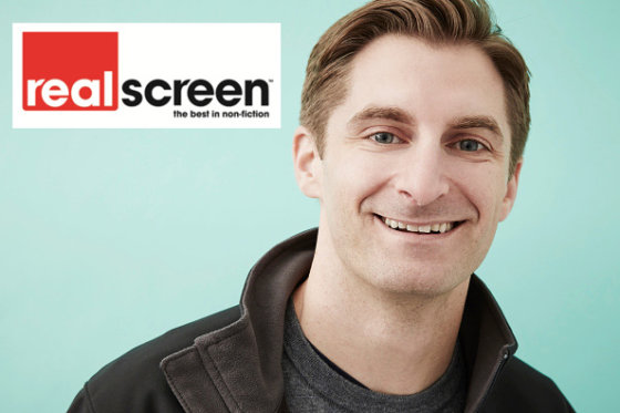 Jimmy Fox partners with Realscreen on podcast series