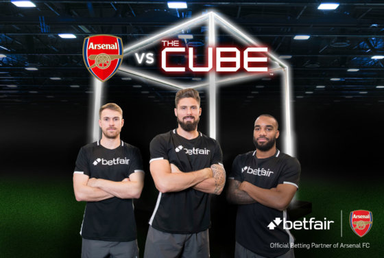 Arsenal star beats hit game show The Cube