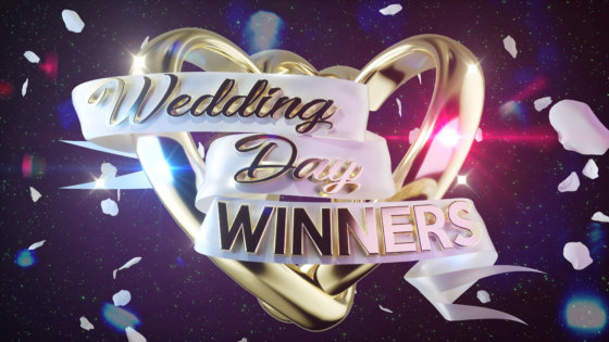 Lorraine Kelly and Rob Beckett say I do to BBC One's Wedding Day Winners